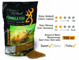 Browning Zanęta Champions Method Fromula Fish 700ml.